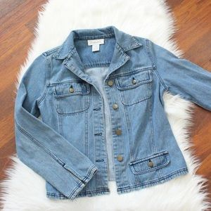 Chadwick's jean jacket